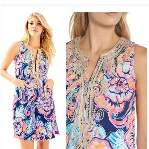 Lilly Pulitzer Carlotta stretch shift dress